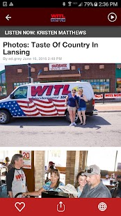 100.7 WITL - Lansing's #1 For New Country - náhled