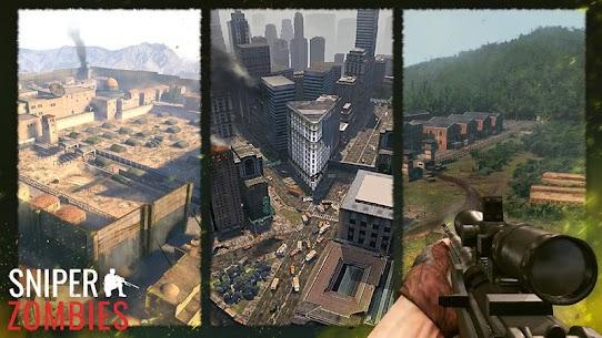 Sniper Zombies: Offline Shooting Games 3D Mod Apk 1.44.0 (Unlimited Money) 6