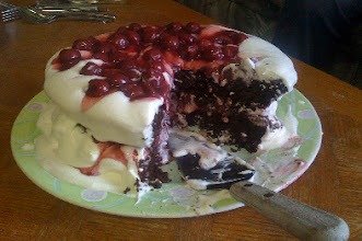 Photo: Birthday cake that appeared in e4 photo examples