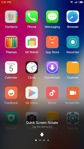 iLauncher for OS11 With No Ads: Stylish for PhoneX for PC