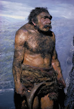 Photo: Neanderthal were our very close relatives. Their genes still live on in many communities so you can say that they still have living ancestors. Many believe that we exterminated them, Homo erectus, and many other animals.   Svante Pääbo: DNA clues to our inner neanderthal: http://www.ted.com/talks/svante_paeaebo_dna_clues_to_our_inner_neanderthal