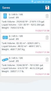 Tank Volume