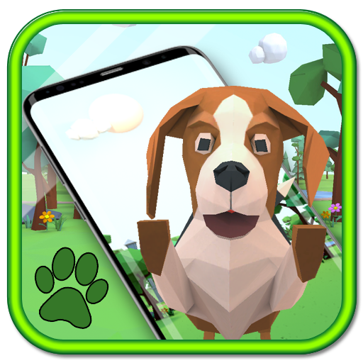 3D Cute puppy theme&Lovely dog wallpaper Icon