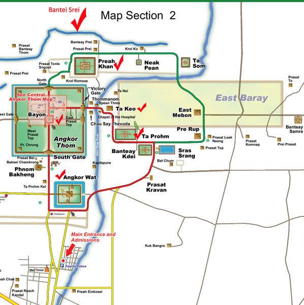 Храмы Ангкора за 1 день, Камбоджа