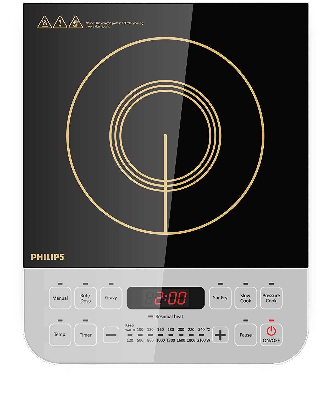 Philips Viva Collection HD4928/01 2100-Watt Best Induction Cooktop