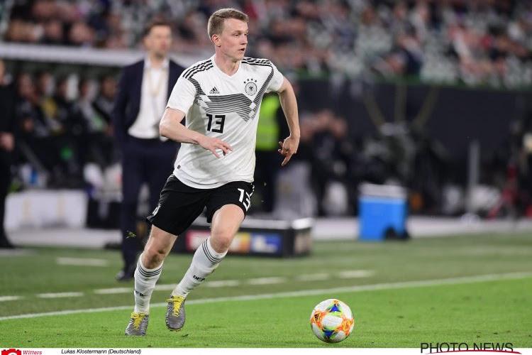 L'Allemagne perd un de ses défenseurs pour le choc face aux Pays-Bas