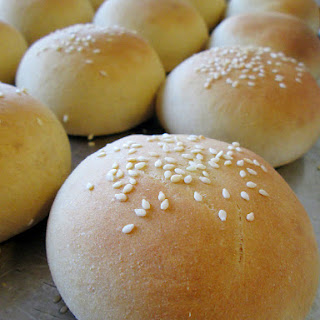 Soft Hamburger Buns