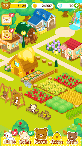 Télécharger Rilakkuma Farm apk mod screenshots 4