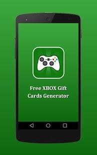 Free XBOX Gift Cards Generator - náhled