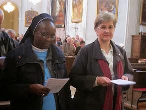 Photo: Sr. Mercy und Sr. Christa Petra