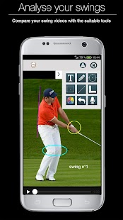 Swing analysis- screenshot thumbnail