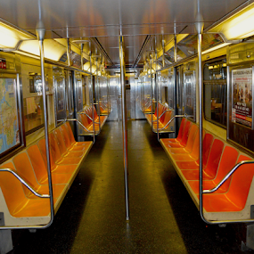A Quiet Subway Car by Rob Kovacs - Novices Only Objects & Still Life (  )