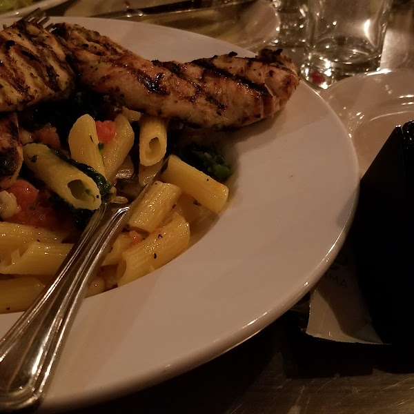 """Nima detected gluten on """"gluten free"""" pasta with grilled chicken"""