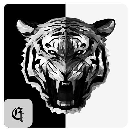 Dark Tiger Roar Theme For XPERIA