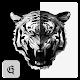 XPERIA - Dark Tiger Theme | Polygon | ART | OREO Android apk