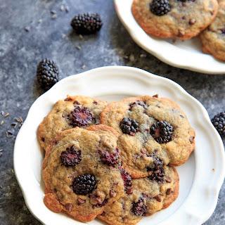 Blackberry Lavender Chocolate Chip Cookies Recipe