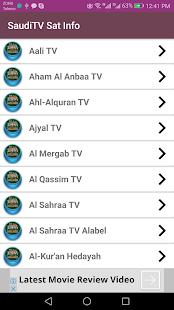 Saudi Arabia TV Channels (Sat Info)-FREE - náhled