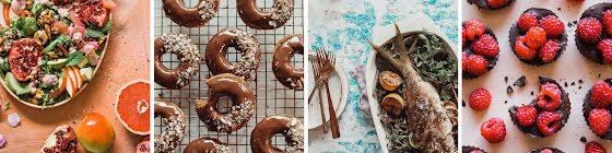 Seasonal Recipes - Collage Template