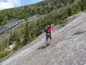 Photo: Phil on some nice open anorthosite.