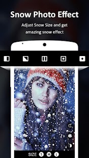 Snow Photo Effect – Snow Photo Editor - náhled