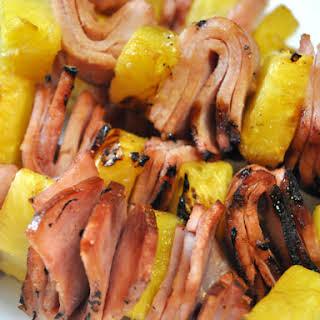 Ham & Pineapple Kabobs.