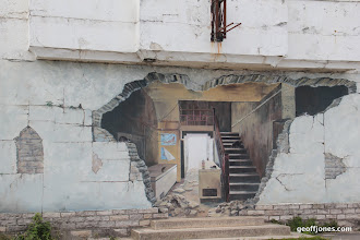 Photo: Trompe L'Oeil in Swanage