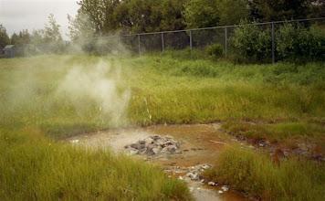 Photo: termální park Hveragerdi