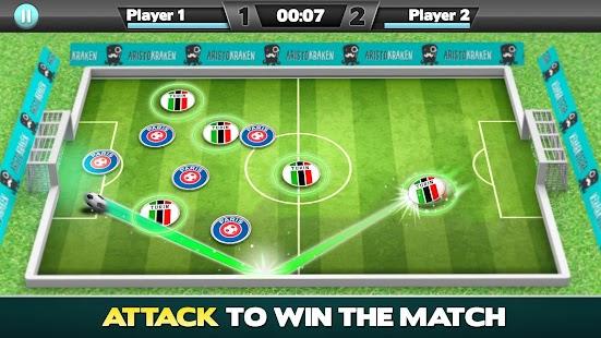 Soccer Caps Stars League Ekran Görüntüsü