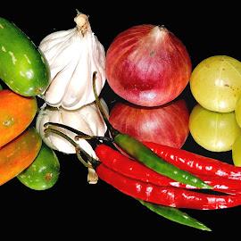 ingredients  by SANGEETA MENA  - Food & Drink Ingredients