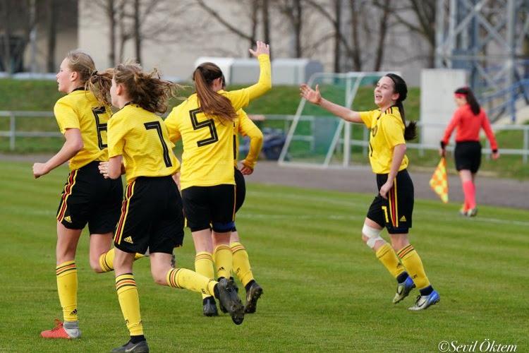 Les U17 prennent possession du Stade Roi Baudouin