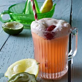 Lemon Lime Strawberry Float