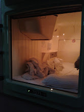 Photo: My home for a few nights http://www.livingwithdragons.com/2012/09/staying-in-a-capsule-hotel