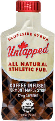 UnTapped Maple Syrup Coffee Infused Athletic Fuel Gel Packets: Box of 20 alternate image 1