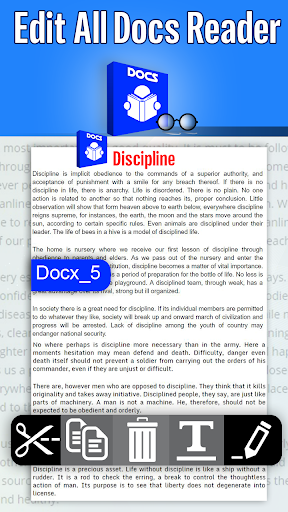 All Documents Reader And Documents Viewer 1.7 screenshots 2