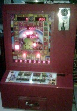 sebuah mesin judi jackpot