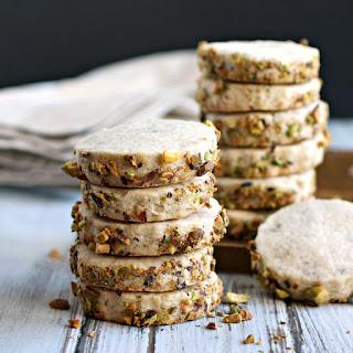 Cardamom Pistachio Shortbread Cookies Recipe