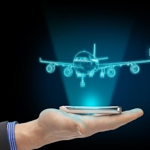 Plane Hologram Camera 3D for PC and MAC