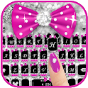 Twinkle Minny Bowknot Keyboard Theme icon