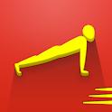 100 pushups: 0 to 100 push ups icon