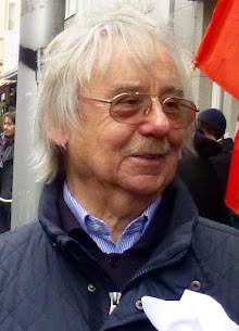 Auf einer Demo: Porträt Dieter Andresen.
