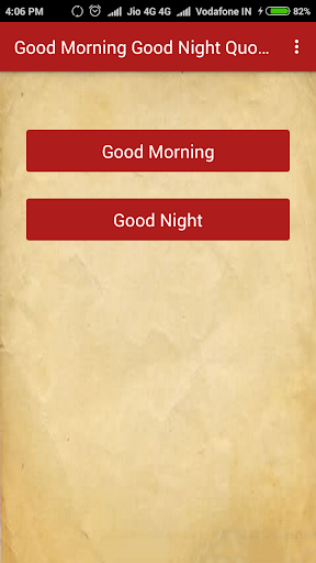 Good Morning & Good Night Quotes 1.5 screenshots 1