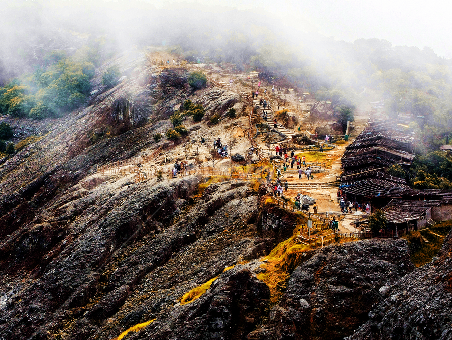 Tangkuban Parahu-INDONESIA by Maynard Caryabudi - Landscapes Mountains & Hills