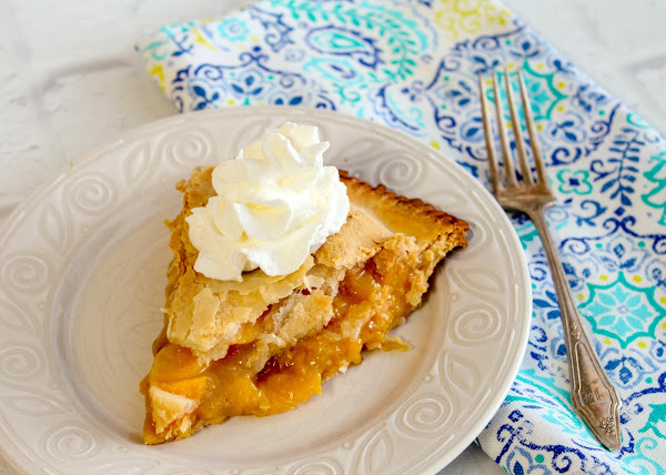 Alabama Peach Pie Recipe