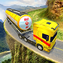 Offroad Oil Tanker Truck Transport Driver icon