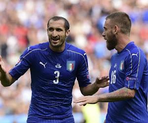 Deux piliers de l'Italie forfaits pour affronter l'Allemagne