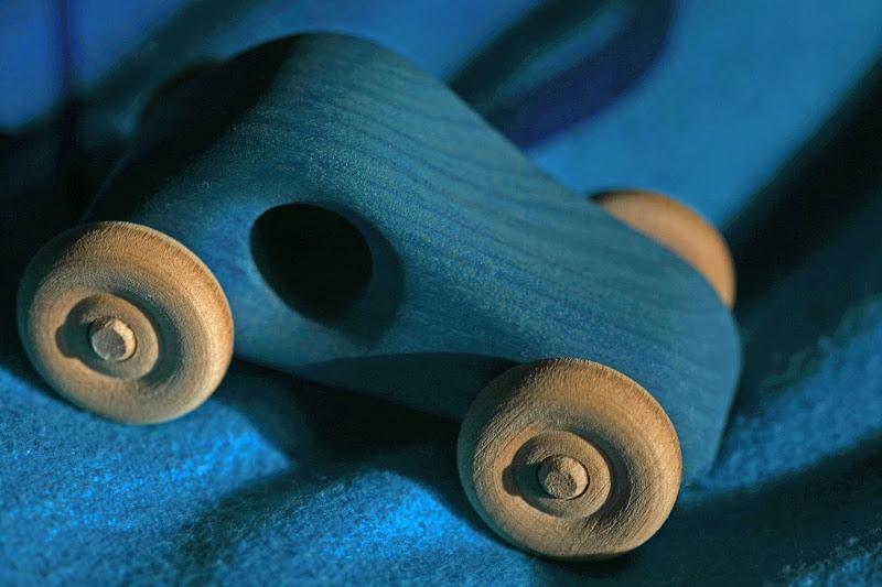 blue wooden  di Pinco_Pallino