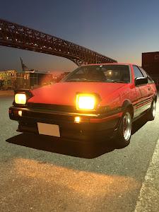 スプリンタートレノ AE86 84年式GT-Vのカスタム事例画像 たつやさんの2019年01月15日21:18の投稿