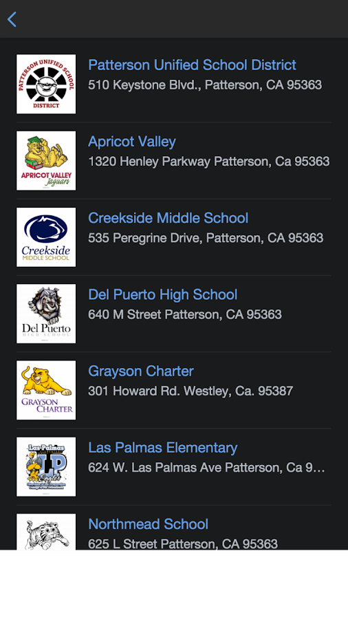 Patterson USD- screenshot