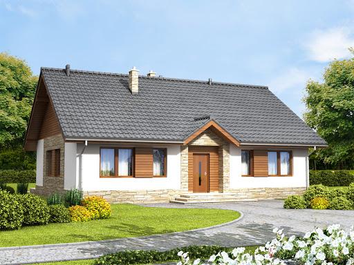 projekt domu Daktyl 4