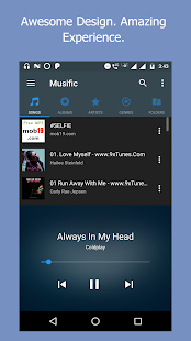 Music Player - Music App, Mp3 and audio player Screenshot
